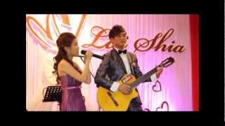 Malaysia wedding song cast by Vi Giap + Lai Shia in 2013 (Indie Video MTV)