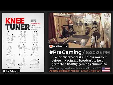 #PreGaming: DAREBEE Knee Turner Workout 💪