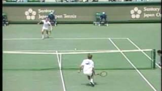 1988 Santory Japan F  McEnroe vs Edberg