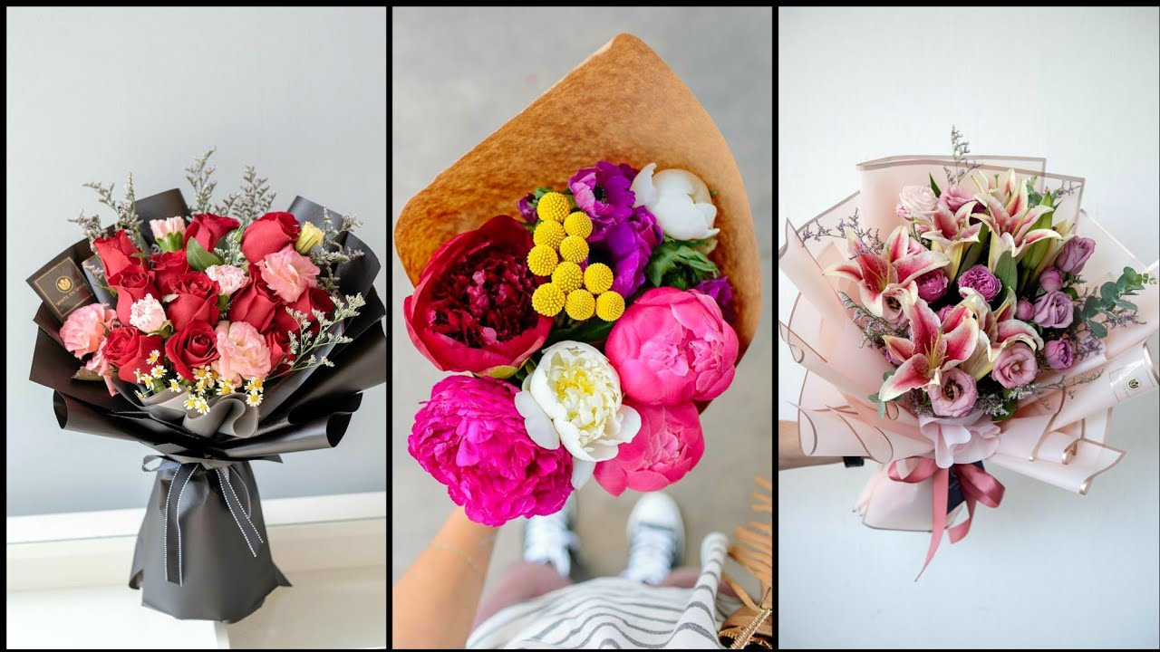 Top 10 Amazing Elegant Diy Birthday Flower Bouquet Ideas Youtube