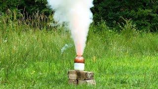 Поджигаем 2 кг ракетного топлива
