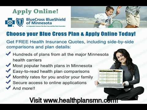 Health Insurance Quotes MN And Apply Online For Blue Cross MN YouTube Delectable Blue Cross Health Insurance Quotes