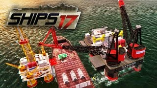 Ships 2017 - Building a Helipad | DCV Builder Gameplay