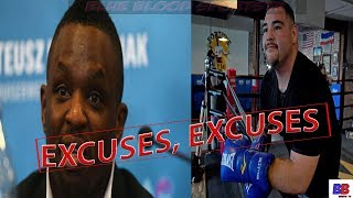 (WOW) DILLIAN WHYTE RIPS ANDY RUIZ WITH ONSLAUGHT, CALLS HIM OUT & SAY STOP MAKIN EXCUSES & FIGHT