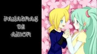 [Vocaloid3]Ai Kotoba - Miku & Len[Español]