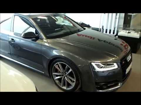 2017 daytona gray audi s8 plus 605 ps exterior interior details youtube. Black Bedroom Furniture Sets. Home Design Ideas
