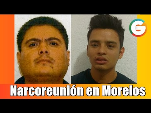 Narcoreunión en Morelos; Líderes Narcos y Mandos Policiacos, citan
