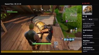 FFS Fortnite Brakes Me - Frustrating Fortnite - PS4 Only - Road to 250