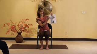 Stretching and Moving the Diamond: Thoracolumbar Fascia Chair Yoga Stretches