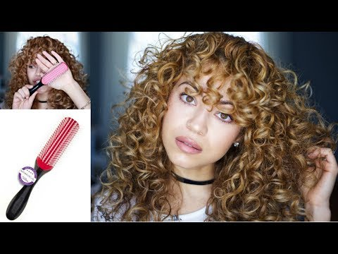 Why I Use The Denman Brush | Curly Hair