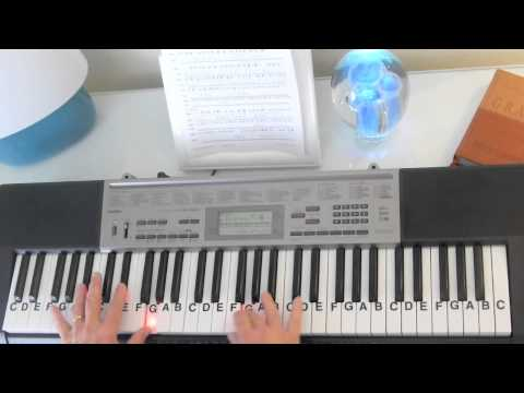 How to Play ~ Turning Page ~ Sleeping At Last ~ LetterNotePlayer ©