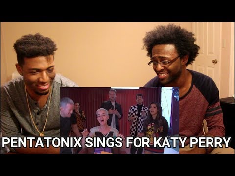Katy Perry - Serenaded By Pentatonix (Witness World Wide) (REACTION)