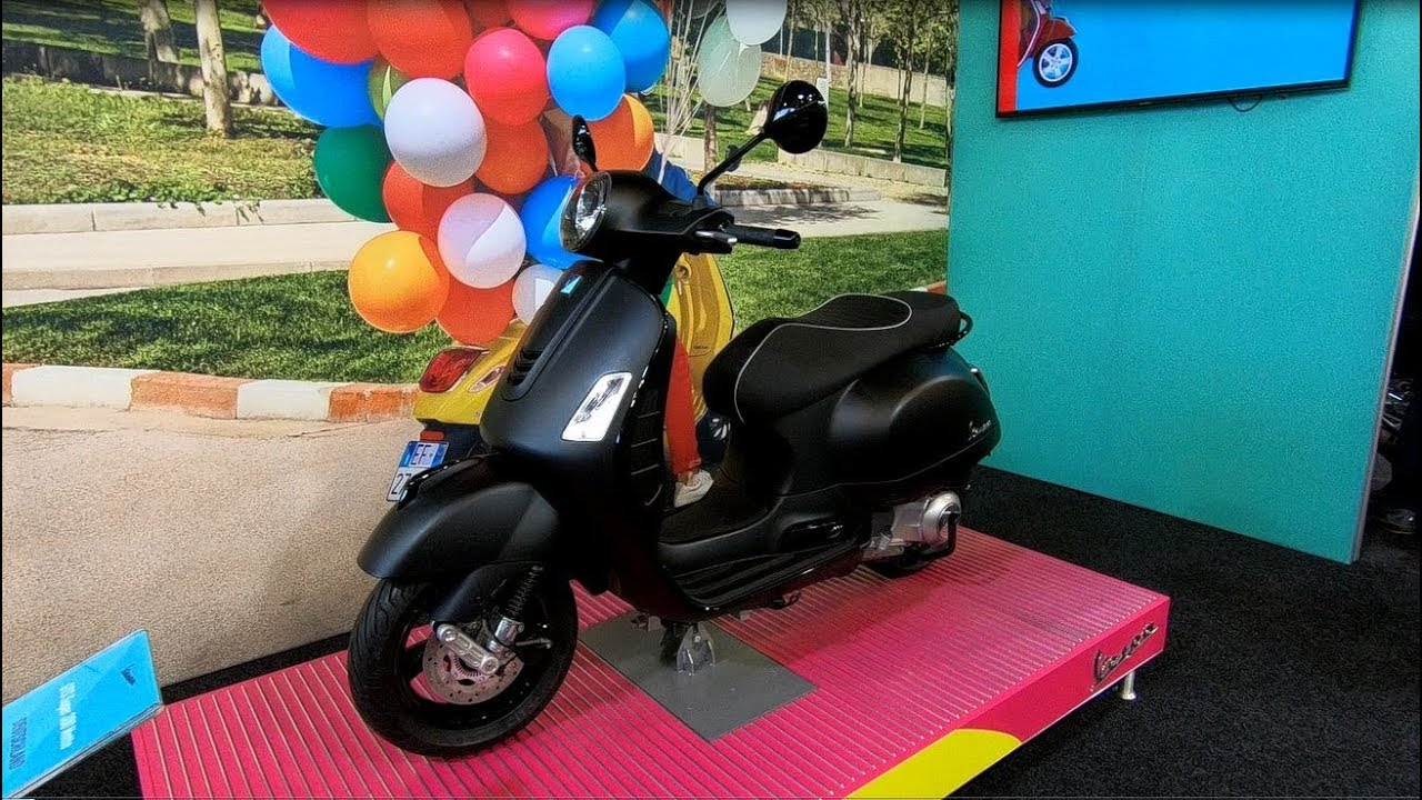 piaggio vespa gts 300 super notte abs asr scooter new. Black Bedroom Furniture Sets. Home Design Ideas