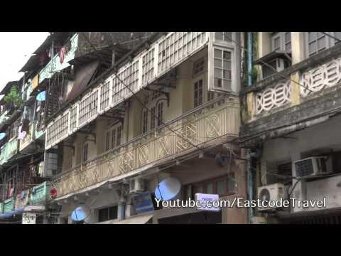 Yangon street life Rangoon Today