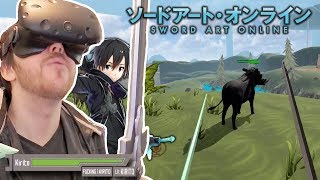 PLAYING AN ACTUAL VR SWORD ART ONLINE GAME - VRChat