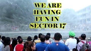 Having fun in Chandigarh | Sector 17 | SharmaJi Technical | Varchasvi Sharma | VBO Vlogs | 2018