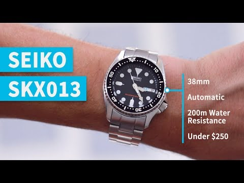 Best Dive Watch for Small Wrists | Seiko SKX013 Review