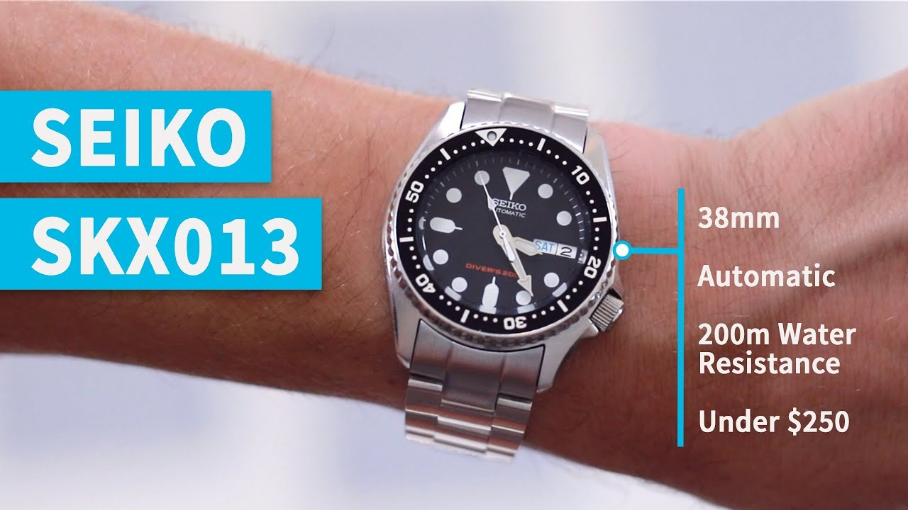 8ea94d893 Best Dive Watch for Small Wrists | Seiko SKX013 Review - YouTube