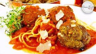 Classic Spaghetti and Meatballs Recipe in 1 HOUR | Quick Recipe
