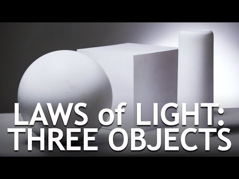 Laws of Light: Three Objects