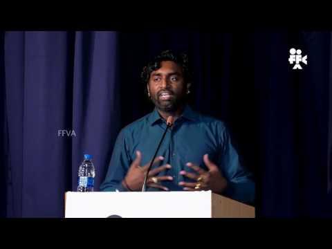FFVA convocation speech   Cinematographer KK Senthil Kumar of Baahubali fame