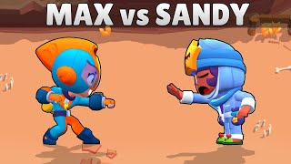 MAX vs SANDY | 1vs1 | 19 Tests | Brawl Stars