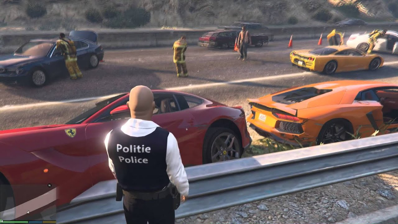 Gta Supercars Accident Amazing Youtube