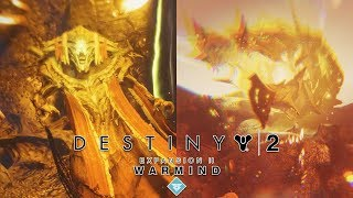 Destiny 2 WARMIND Expansion 2 All Boss Fights & Ending