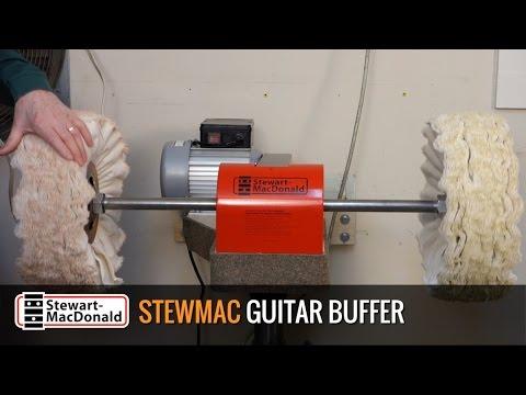 StewMac Guitar Buffer: Buffing Tips