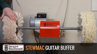 StewMac Guitar Buffer: buffing tips