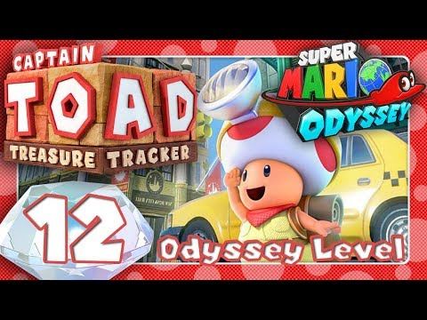 Captain Toad Treasure Tracker 12 Die Odyssey Level Youtube
