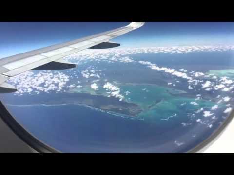 Miami to San Pedro Sula Flight Timelapse