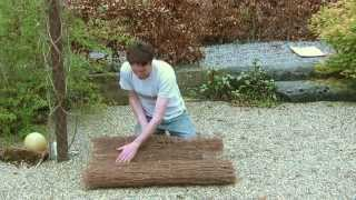 1m Brushwood Garden Fencing Screen