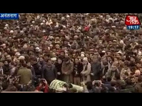 J&K In Mourning After Mufti Mohammad Sayeed's Death