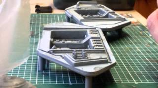 Land raider build; part 1