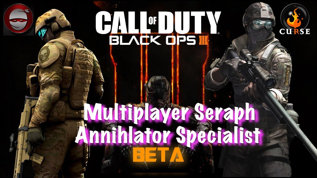 """Call Of Duty Black Ops 3 Multiplayer """"SERAPH"""" Specialist"""