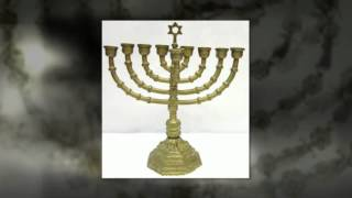 Jewish Candle Holders -- For Using Silver Candle