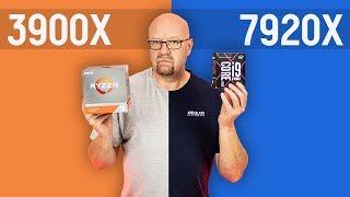 RYZEN 9 3900x vs Intel i9 7920x / 12 rdzeni vs 12 rdzeni