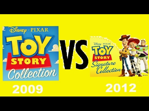 Toy Story Collection VS Toy Story Signature Collection
