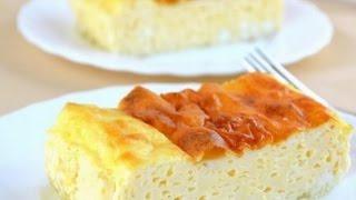Рецепт пышного амлета как в детском саду из яиц и молока в духовке