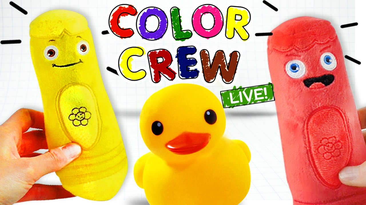 Learn Colors With Color Crew Live Colors For Children