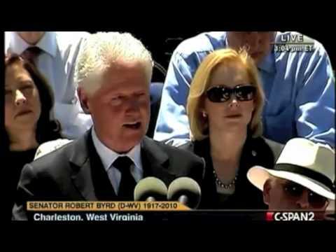 Bill Clinton - How Robert C. Byrd Got Elected