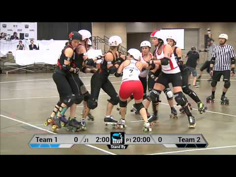 England vs Germany Roller Derby World Cup 2014