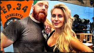 Ep.34 Charlotte Flair Leg Day Workout...