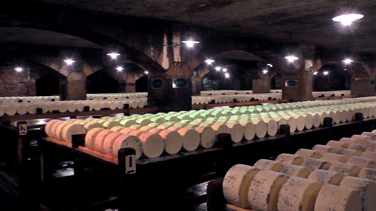 Quesos franceses visita a las cuevas roquefort soci t for Guisos franceses