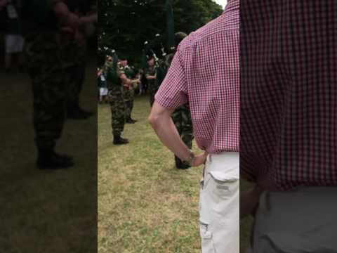 Irish Defence Forces Open Day Pipe Music 2