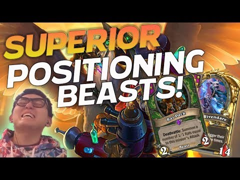 Superior Positioning Beasts! - Hearthstone Battlegrounds