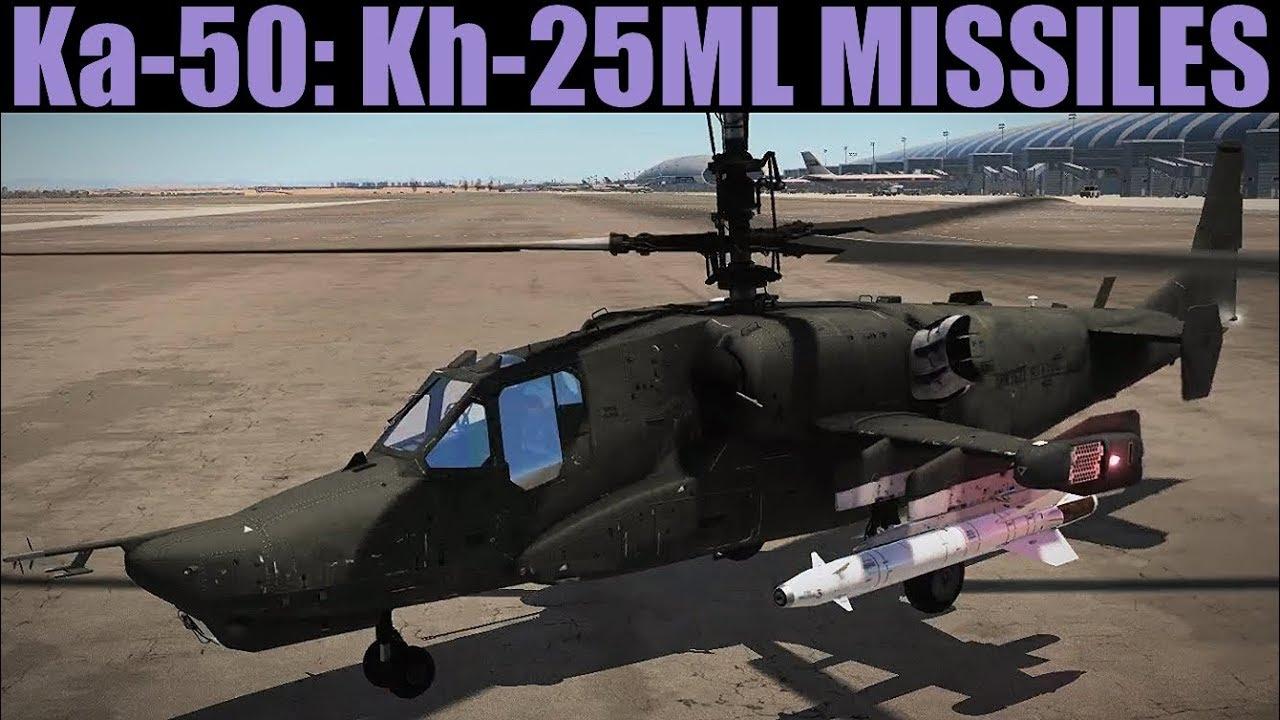 Ka-50 Blackshark: Kh-25ML & Buddy Lasing Tutorial | DCS WORLD