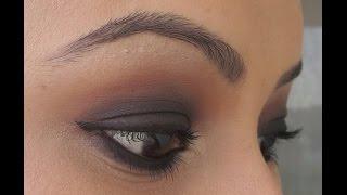 simple black smokey eyes tutorial for beginners ft urban decay naked basics palette