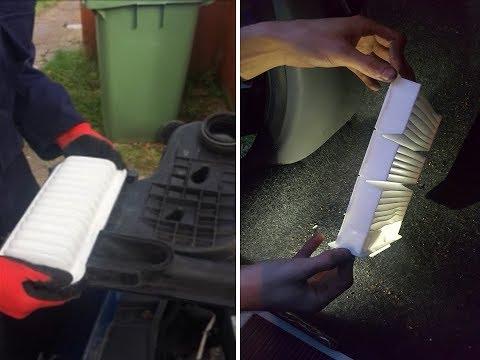 Air & Pollen Filter Change Toyota Aygo (Mk1 1.0L Petrol)